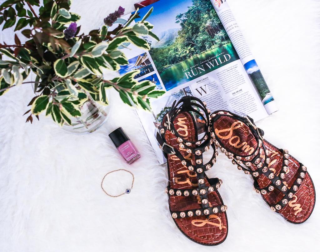 Startwithblack_samedelman sandals