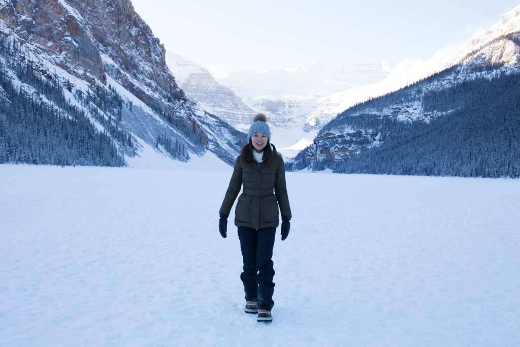 Startwithblack Postcards from Lake Louise in Winter 1-11