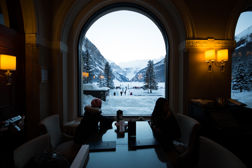 Startwithblack Postcards from Lake Louise in Winter 1-13