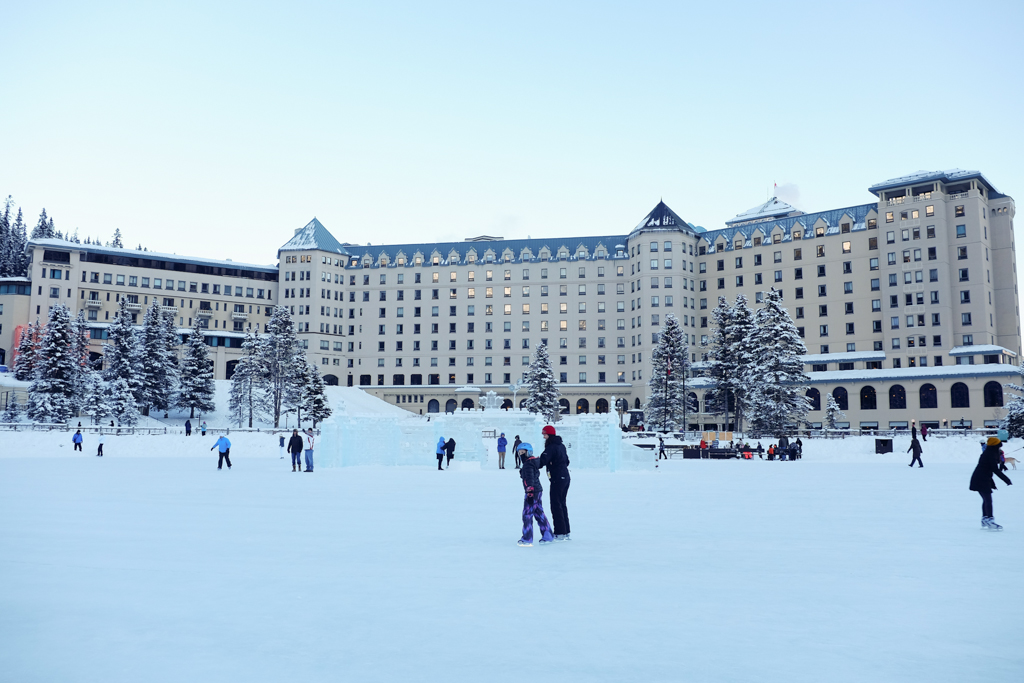 Startwithblack Postcards from Lake Louise in Winter 1-2
