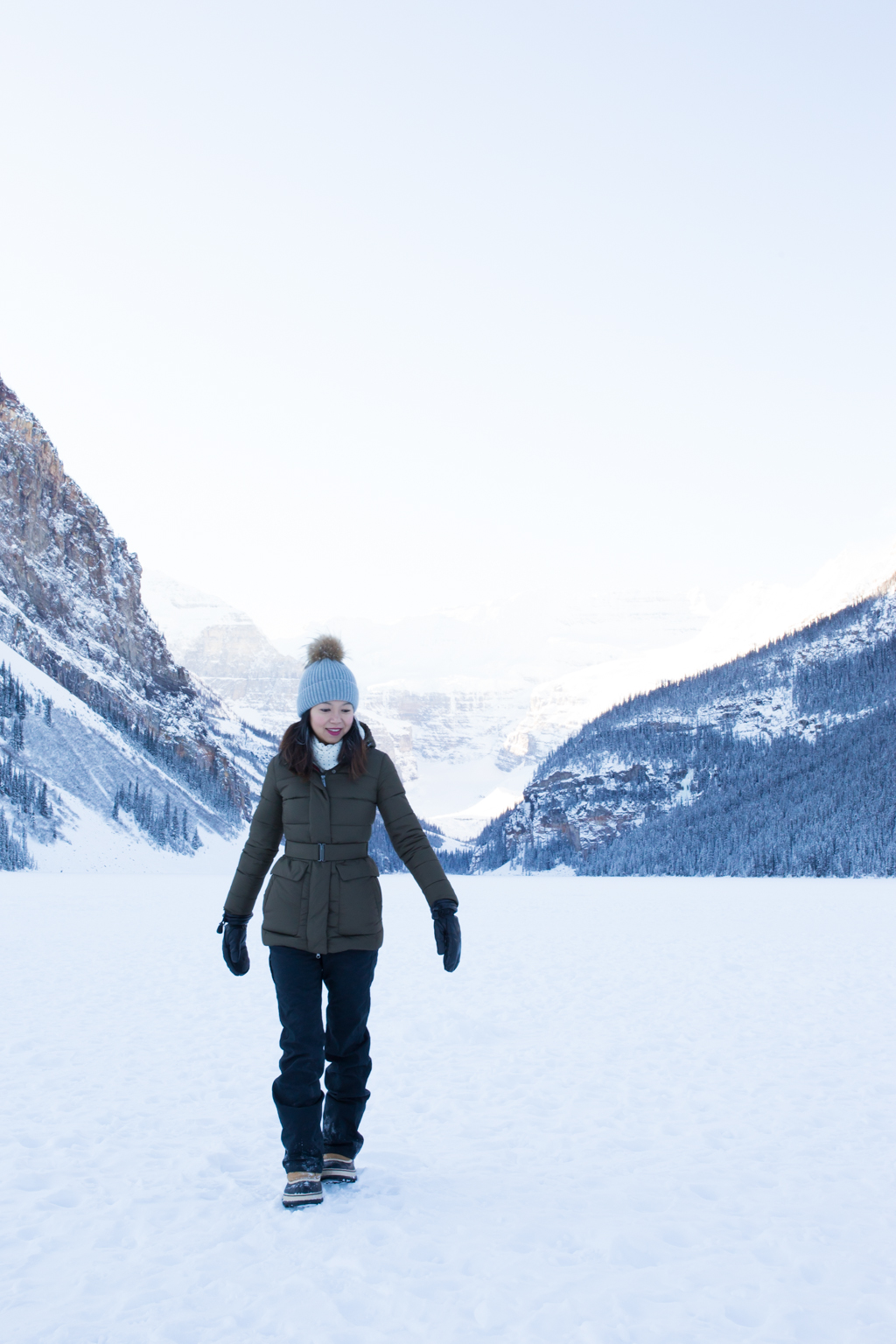 Startwithblack Postcards from Lake Louise in Winter 2-12